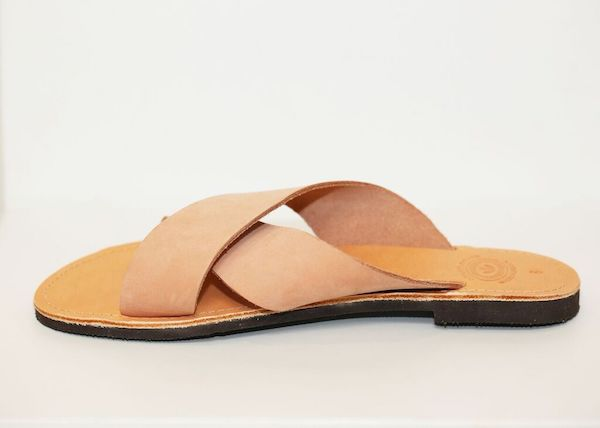 Criss Cross Sandals Blush