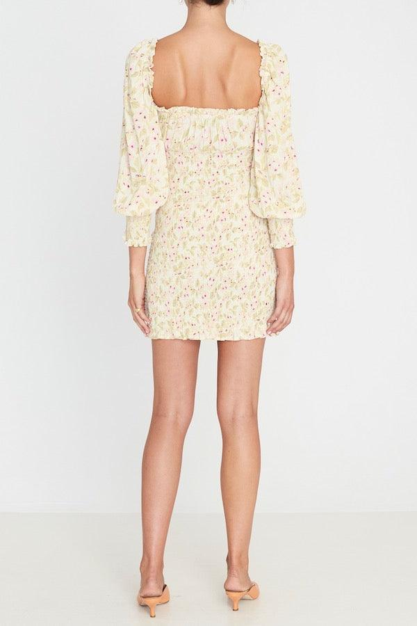 Faithfull The Brand | Gombardy Mini Dress Adele Floral Print | Girls With Gems