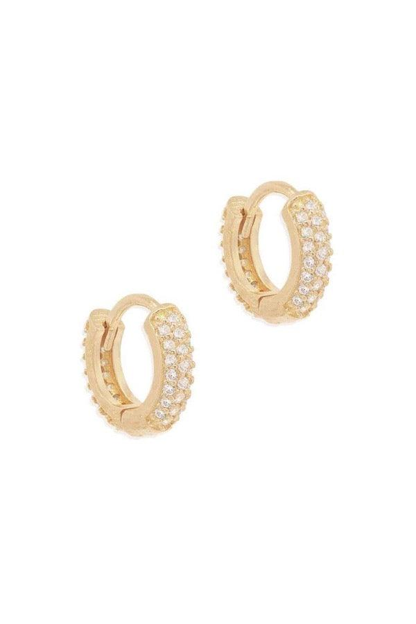 By Charlotte | Gold Light Catcher Hoops | Girls with Gems
