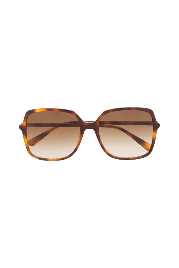 Gucci | Square Sunglasses Havana | Girls With Gems