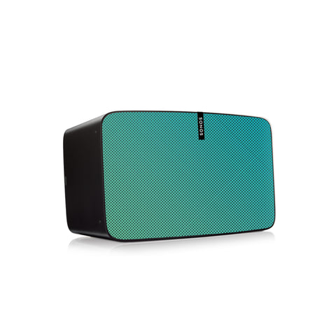 Aqua Speaker Skin Sonos Play:5 (gen2) Black Mockup