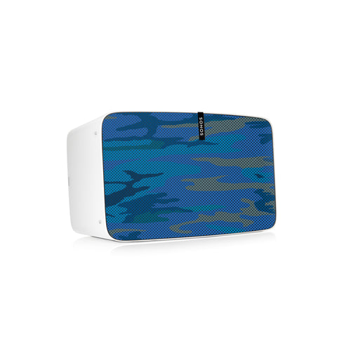 Camo Blues Speaker Skin Sonos Play:5 (gen2)
