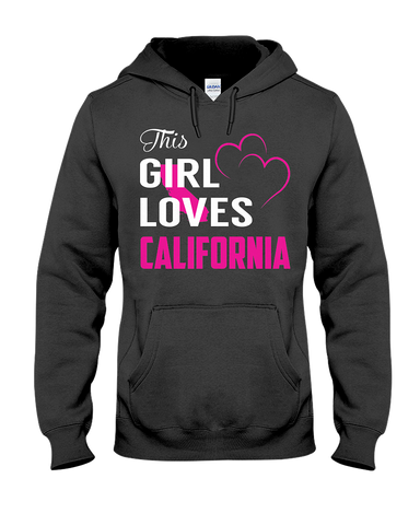 This Girl Loves California State TShirt