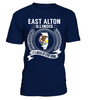 East Alton, Illinois Its Where My Story Begins T-Shirt