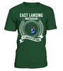 East Lansing, Michigan Its Where My Story Begins T-Shirt