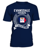 Evansdale, Iowa Its Where My Story Begins T-Shirt
