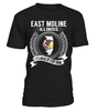 East Moline, Illinois Its Where My Story Begins T-Shirt