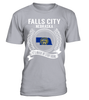 Falls City, Nebraska Its Where My Story Begins T-Shirt