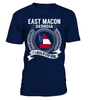 East Macon, Georgia Its Where My Story Begins T-Shirt