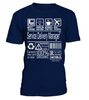 Service Delivery Manager Multitasking Job Title T-Shirt