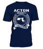 Acton, Massachusetts Its Where My Story Begins T-Shirt