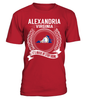 Alexandria, Virginia Its Where My Story Begins T-Shirt