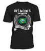 Des Moines, Washington Its Where My Story Begins T-Shirt