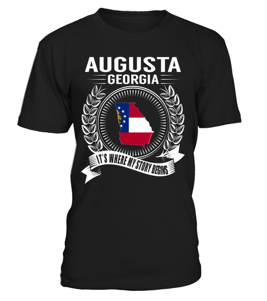 Augusta, Georgia Its Where My Story Begins T-Shirt