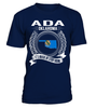 Ada, Oklahoma Its Where My Story Begins T-Shirt