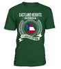 Eastland Heights, Georgia Its Where My Story Begins T-Shirt