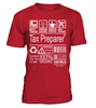 Tax Preparer Multitasking Job Title T-Shirt