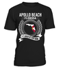 Apollo Beach, Florida Its Where My Story Begins T-Shirt