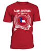 Banks Crossing, Georgia Its Where My Story Begins T-Shirt