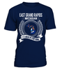 East Grand Rapids, Michigan Its Where My Story Begins T-Shirt