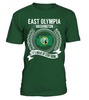 East Olympia, Washington Its Where My Story Begins T-Shirt