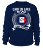 Carter Lake, Iowa Its Where My Story Begins T-Shirt