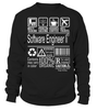 Software Engineer Ii Multitasking Job Title T-Shirt