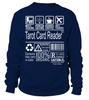Tarot Card Reader Multitasking Job Title T-Shirt