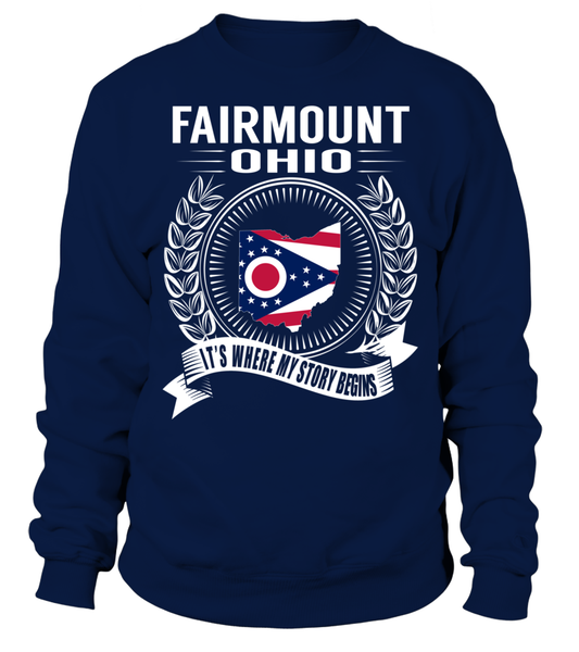 Fairmount, Ohio Its Where My Story Begins T-Shirt