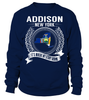 Addison, New York Its Where My Story Begins T-Shirt