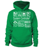 System Controller Multitasking Job Title T-Shirt