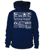 Technical Analyst Multitasking Job Title T-Shirt