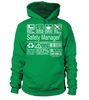 Safety Manager Multitasking Job Title T-Shirt