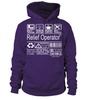 Relief Operator Multitasking Job Title T-Shirt