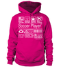 Soccer Player Multitasking Job Title T-Shirt