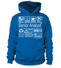 Senior Analyst Multitasking Job Title T-Shirt