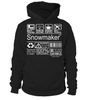 Snowmaker Multitasking Job Title T-Shirt