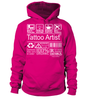 Tattoo Artist Multitasking Job Title T-Shirt
