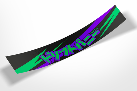 DRIFT BUNNY Livery Logo CUSTOM banner (Choose your own colours!)