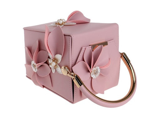 flower carryout purse handbag