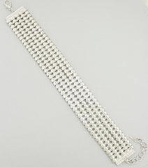 "11.50"" choker collar bib necklace"