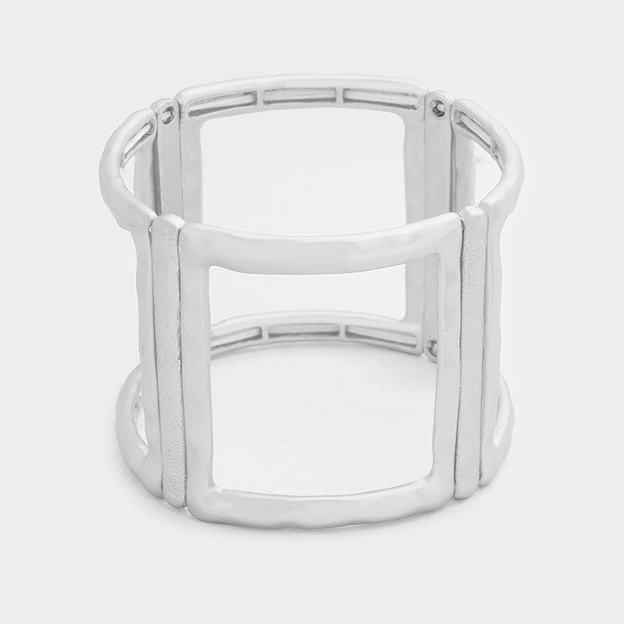 "1.75"" cuff stretch bracelet bangle arm candy"