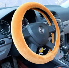 Comfy Fur Warm Steering Wheel Covers 1 Piece not 3 pieces
