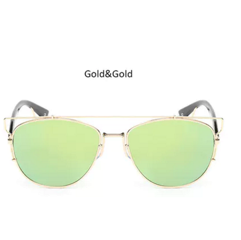 Unisex Reflected sunglasses glasses shades