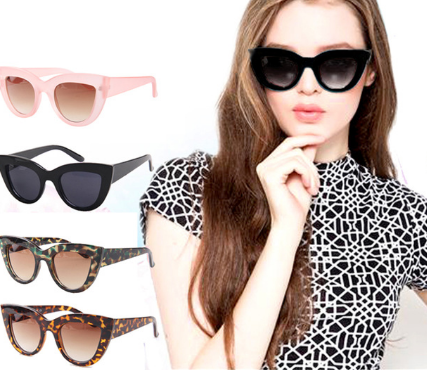 Classic cat eye sunglasses shades glasses