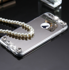 Chunk rhinestone iphone phone case