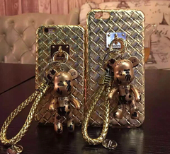 Gold Metal iphone case phone