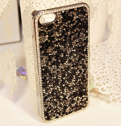 Crystal Crusted iphone 5 case