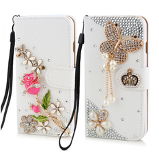 Garden wallet phone case iphone
