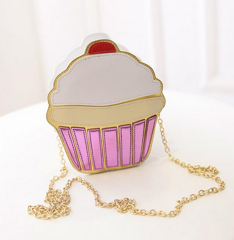 Cupcake candy purse clutch